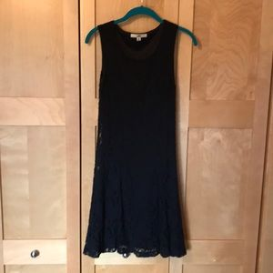 Form Fitting Summery Black Lace Dress